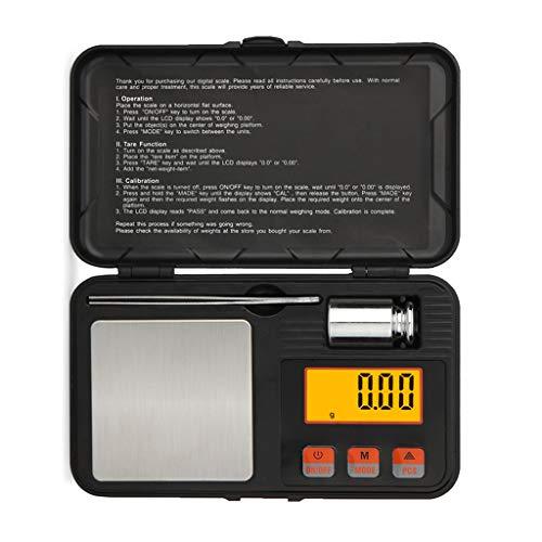 Boji Báscula digital de peso para joyas, balanzas de bolsillo de oro de alta precisión, balanza electrónica
