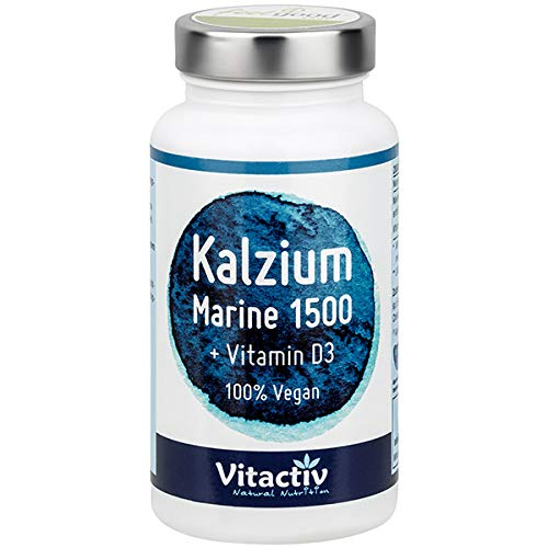 Vitactiv Natural Nutrition -  Kalzium Marine 1500