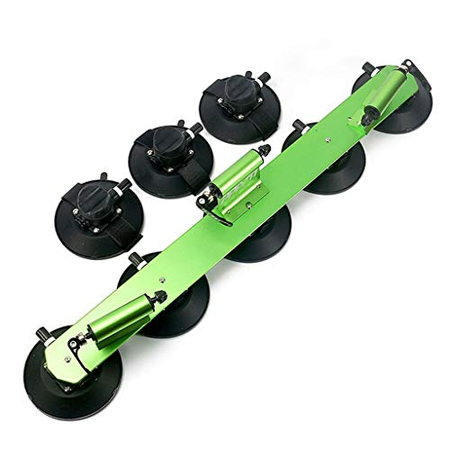 2 Fiets Fiets Mount Rack Stand Carrier, Vacuüm Mount Bike Rack Sucker Vlucht Deck Sport Buiten Bike Accessoires Dakdragers Green-C