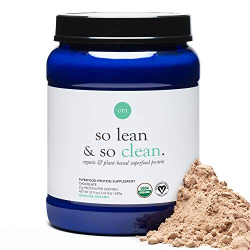 Ora Organic Plant-Based Protein Powder - So Lean and So Clean (Vanilla Sample Pack (3 Count))