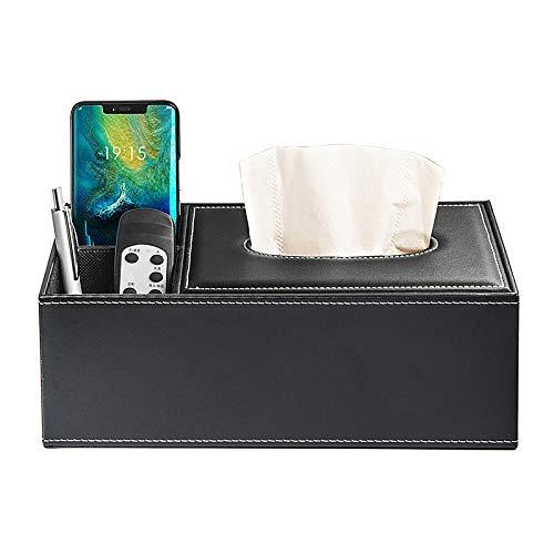 Europäische Art Leder Taschentuch Box Schublade Tablett Restaurant Hotel Papier Schublade Wohnzimmer Serviette Tablett