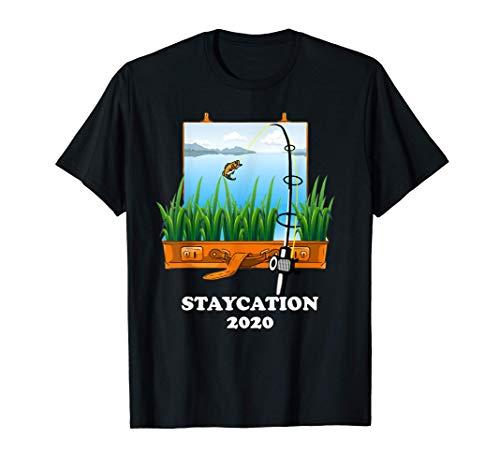 Staycation Pesca Holistay quarantena 2020 Maglietta