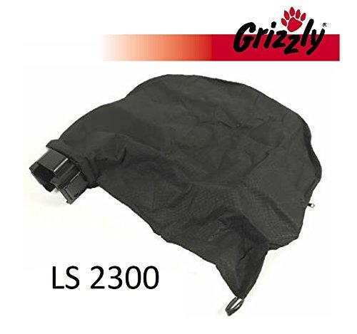 Grizzly Sac collecteur avec support pour Powerplus POW63150 Aspirateur à feuilles électrique Grizzly LS 2300