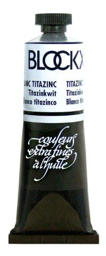Blockx Titazinc White Oil Paint, 35ml Tube