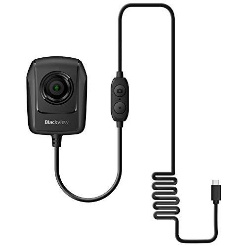 """Cámara de Visión Nocturna Blackview BV9700 Pro 1.3MP a Través de Conexión Tipo-C, IMX225 (1/3 """") COMS, 720P 30FPS, Foto/Video-Negro"""