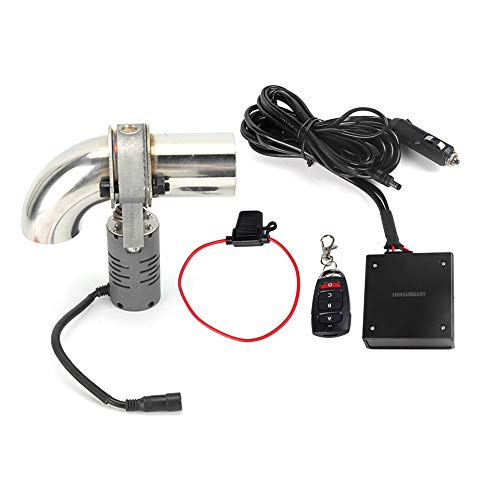 Valvola di scarico, tubo catback della valvola di scarico del silenziatore della valvola di scarico elettrica in acciaio inossidabile 304 con telecomando per telecomando