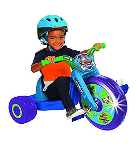 "Paw Patrol 15"" Fly Wheel Junior Cruiser, 1 Ride-on, Blue/Green, Ages 3-7"