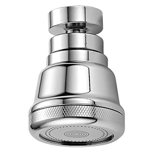 Accesorio de cabeza de rociador de grifo de cocina - 360 ° movible latón sólido fregadero boquilla - rociador de alta presión - grifo..