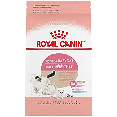 Royal Canin Feline Health Nutrition Mother & Babycat Dry Cat Food for Newborn Kittens and Pregnant or Nursing Cats, 3.5 Pound Bag