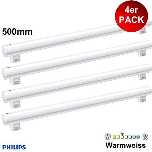 4 X PHILIPS LED Philinea Linienlampe T50 500mm S14s 375lm Ersatz für Linestra Leuchtstoffröhre