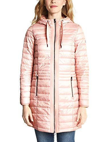 CECIL Damen Mantel 100458, Shell Blossom, Large (Herstellergröße: L)