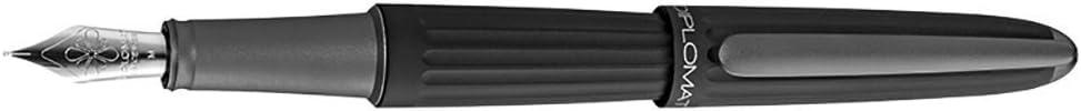 Diplomat AERO black fountain low-pricing Direct stock discount B pen nib broad