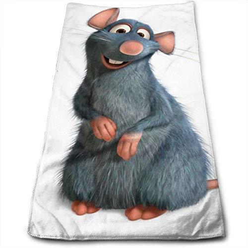 GYYbling Toalla Ratatouille Toalla 100% algodón Toallas de baño Suaves, Gruesas, de Calidad, Toallas para baño, Hotel y Cocina, (12 x 27,5 Pulgadas)