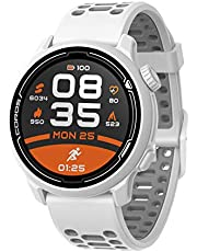 COROS PACE 2 Premium GPS-sporthorloge met nylon of siliconen band, hartslagmeter, 30 uur volledige GPS-batterij, barometer, ANT+ & BLE verbindingen, Strava, Stryd & Training Peaks