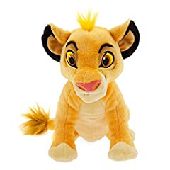 Genuine, Original, Authentic Disney Store Detailed plush sculpting Embroidered features Soft plush construction Faux fur tuft and tail