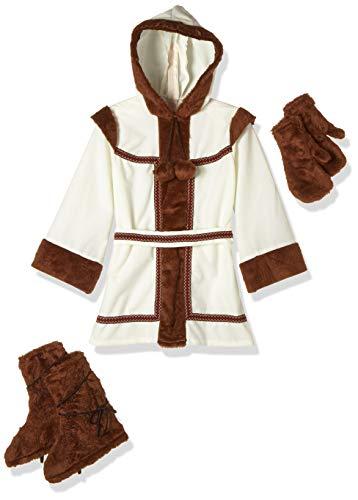 disfraz prime Disfraz Esquimal niña, Multicolor, estandar (limitsport 8421796429158)