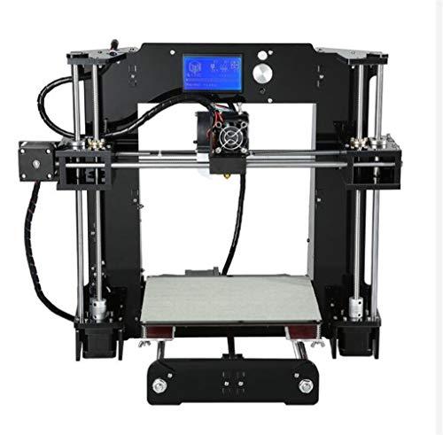 LINDANIG Imprimante 3D de Haute précision Extrudeuse Reprap Prusa i3 Imprimante 3D Kit de Bricolage avec PLA Filament (Couleur
