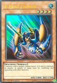 Yu-Gi-Oh! X-Head Cannon - LCKC-EN005 - Ultra Rare - 1st Edition - Legendary Collection Kaiba Mega Pack (1st Edition)