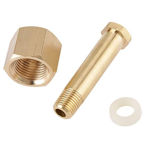 Inlaatmoer van regelaar, CGA-320 inlaatmoer voor kooldioxide en ringnippel