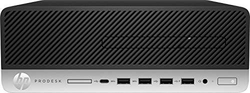 HP ProDesk 405 G4 - Mini ordenador de sobremesa profesional (AMD Ryzen 5 PRO 2400G, 8 GB RAM, 256 GB SSD , AMD Radeon RX Vega 11, Windows 10 Pro 64) negro y plata - incluye ratón y teclado en Español