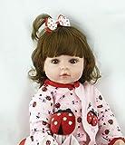 ZIYIUI 18 Pulgadas 47cm Reborn Doll Muñeca renacida Muñeca de niño Muñeca de...