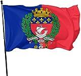 Alanader Bandiera del Giardino, Bandiera Patry, Bandiera della Città di Parigi 3X 5 Ft ca...