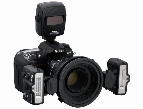 Nikon 4803 - Sistema inalámbrico de Flash Macro para DSLR, Color Negro
