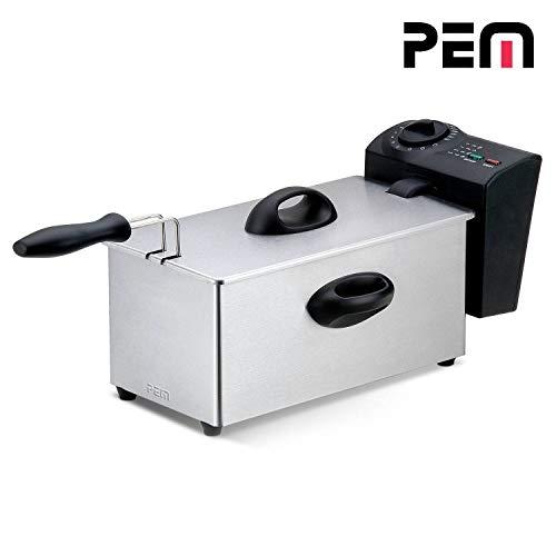 PEM DF-131 Friteuse, 2000 W, 3 l