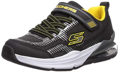 Skechers Skech-air Blast-Tallix zapatilla de deporte para niños, negro (Negro / Amarillo), 36 EU