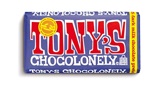 image of Tony's Chocolonely Pretzel & Toffee Chocolate