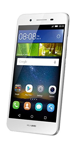Huawei GR3 Smartphone (5 Zoll (12,7 cm) Touch-Display, 16 GB Speicher, Android 5.1) silber