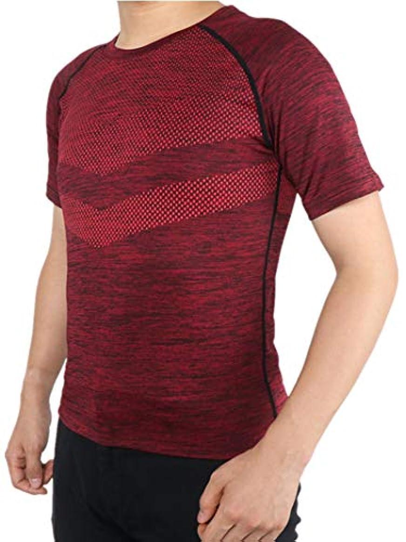 磁器マーキングペダル(アプテラー) APTERA [メンズ] 半袖シャツ スポーツシャツ コンプレッションウェア パワーストレッチ アンダーウェア 吸汗速乾