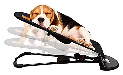 Pet Sedia a dondolo Letto a dondolo portatile con copriletto rimovibile e lavabile PET PET estate pieghevole sedia a dondolo divano letto adatto per cani di piccola taglia Corgi Teddy Bichon Interno e