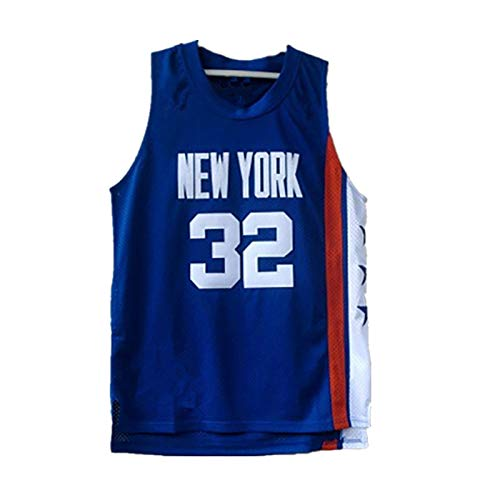 NIUPUPU Maglia da Basket Uomo NBA New York Knicks 32 Brooklyn Nets 32 Canotta Sportiva Top Fitness Maglia Atletica retrò S-XXL
