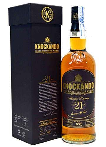 Knockando Single Highland Malt, 21 Jahre Master Reserve, Schottland 0,7 l