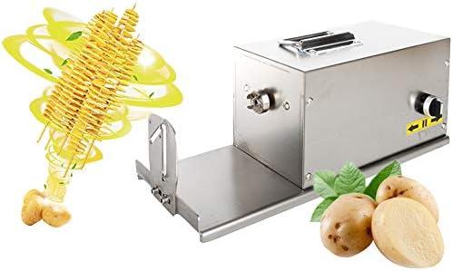 CGOLDENWALL Electric Tornado Potato Slicer Spiral Potato Cutter Twisted Potato Slicer Spiral product image
