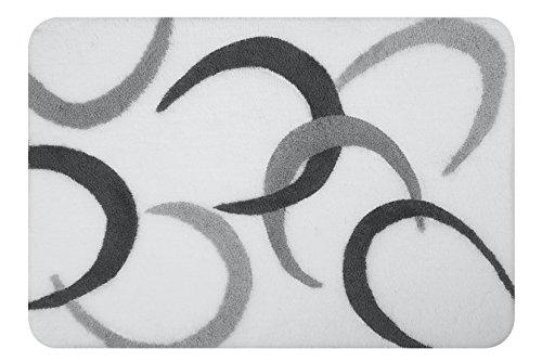 Spirella Luna Grey 70x120 cm badmat / -mat, acryl, grijs, 120 x 70 cm