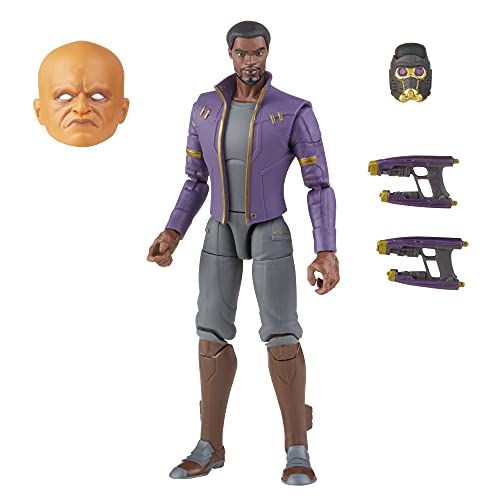 Marvel Legends Series 6-inch Scale Action Figure Toy T'Challa...