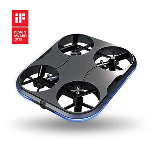 KIZMO K160 Portable Drone with HD Camera, Red K150, Black