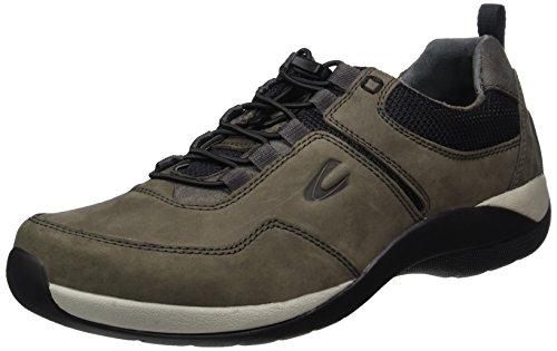 camel active Herren Moonlight 13 Sneaker, Grau (Dk.Grey/Black), 45 EU
