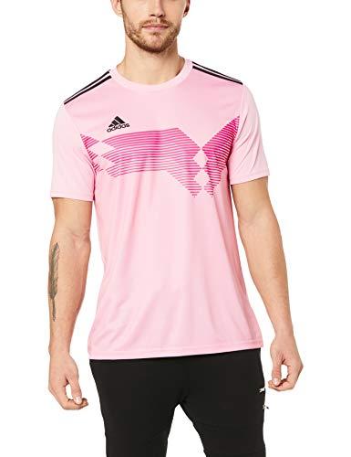 adidas Campeon19 JSY T-Shirt, Champion 19, Pink (True Pink / Schwarz), M