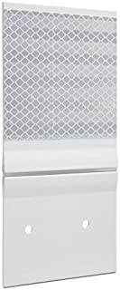 Hinged Guardrail Reflector, Double, HIP, White 4