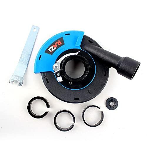 Raizi 180 mm Universal Extractor de aspiración para amoladora angular Protección contra el polvo para amoladora angular de mano