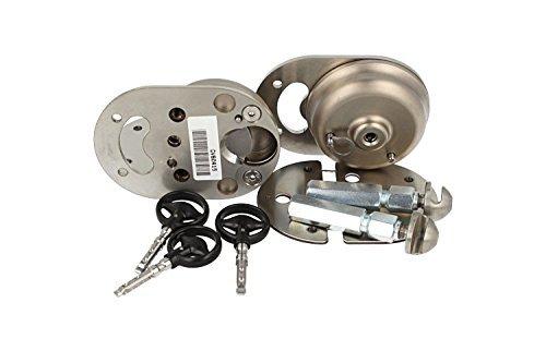 Xvan XVA2 Cadenas de protection antivol pour coffre de voiture avec double cadenas unique