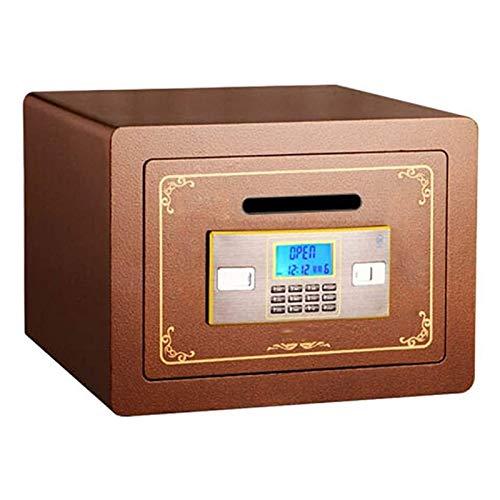 DJDLLZY Dinero en efectivo el manejo de productos Cajas y casillas de verificación de seguridad del Ministerio del Interior de la moneda hoteles for caja registradora Comercial Anti-robo de la caja fo