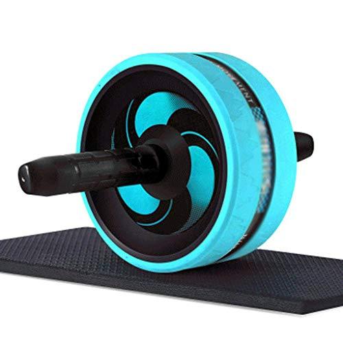 YDHWT Bauchmuskeln Rad-Bauch-Roller-Rad mit Kniepolster, Hauptgymnastik Toning und Anziehen, Fitness Bauchtrainingsgeräte