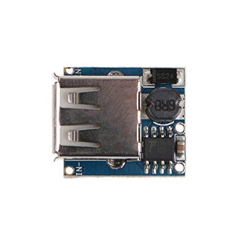 GLASSNOBLE Cable de datos, 5V 1A 1.2A Banco de energía de litio Cargador de batería placa de impulso módulo de carga