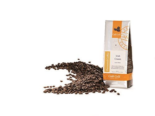 1kg - frischer Aroma-Röstkaffee - Café Cult - Irish Cream - ganze Bohnen