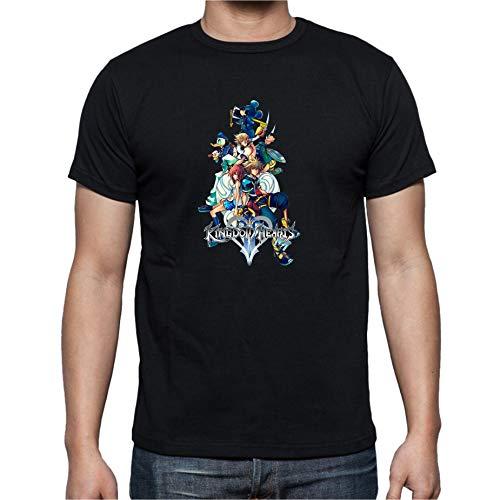 The Fan Tee Camiseta de Hombre Varias Videojuegos Gamer Kingdom Hearts 2XL