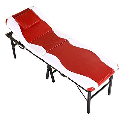 Mesa de Masaje Plegable, Sofá portátil plegable ligero del salón de belleza...
